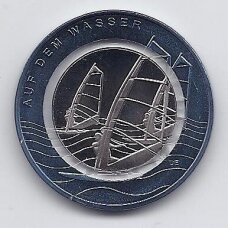 VOKIETIJA 10 EURO 2021 G KM # new UNC Ant vandens