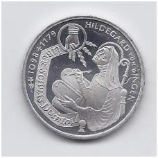VOKIETIJA 10 MARK 1998 KM # 193 HILDEGARD VON BINGEN