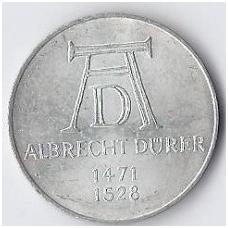VOKIETIJA 5 MARKĖS 1971 KM # 129 XF ALBRECHT DURER