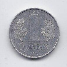 VOKIETIJA ( DEMOKRATINĖ ) 1 MARK 1977 KM # 35 VF