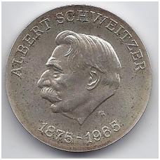 VOKIETIJA ( DEMOKRATINĖ ) 10 MARK 1975 KM # 56 AU SCHWEITZER