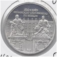 VOKIETIJA ( DEMOKRATINĖ ) 10 MARK 1985 KM # 107 UNC