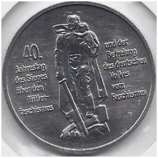 VOKIETIJA ( DEMOKRATINĖ ) 10 MARK 1985 KM # 106 IŠVADAVIMAS