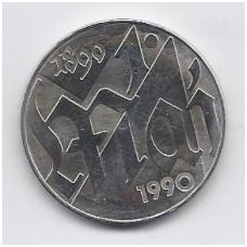 VOKIETIJA ( DEMOKRATINĖ ) 10 MARK 1990 KM # 136 UNC GEGUŽĖS 1-oji