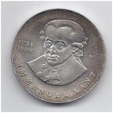 VOKIETIJA ( DEMOKRATINĖ ) 20 MARK 1974 KM # 53 AU KANTAS