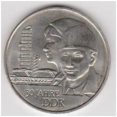 VOKIETIJA ( DEMOKRATINĖ ) 20 MARK 1979 KM # 75 AU 30m. VDR