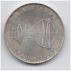 VOKIETIJA ( DEMOKRATINĖ ) 20 MARK 1980 KM # 78 AU ABBE