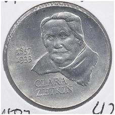 VOKIETIJA ( DEMOKRATINĖ ) 20 MARK 1982 KM # 88 AU ZETKIN
