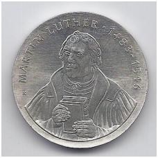 VOKIETIJA ( DEMOKRATINĖ ) 20 MARK 1983 KM # 94 UNC M. LIUTERIS