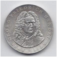 VOKIETIJA ( DEMOKRATINĖ ) 20 MARK 1984 KM # 100 AU HANDEL