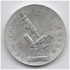 VOKIETIJA ( DEMOKRATINĖ ) 20 MARK 1988 KM # 124 XF CARL ZEISS