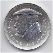 VOKIETIJA ( DEMOKRATINĖ ) 20 MARK 1989 KM # 127 AU MUNTZER