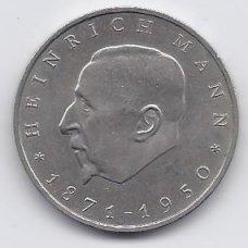VOKIETIJA ( DEMOKRATINĖ ) 20 MARK 1971 KM # 33 VF H. MANAS