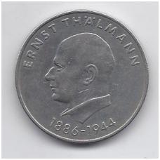 VOKIETIJA ( DEMOKRATINĖ ) 20 MARK 1971 KM # 34 VF E. TALMANAS