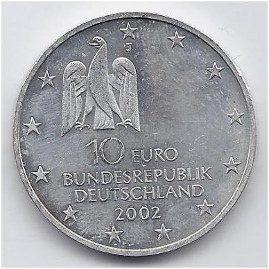 VOKIETIJA 10 EURO 2002 KM # 217 AU 2