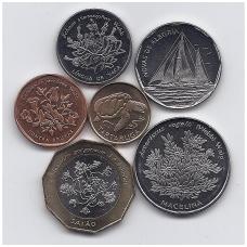 ŽALIOJO KYŠULIO SALOS 1994 m. 6 monetų rinkinys