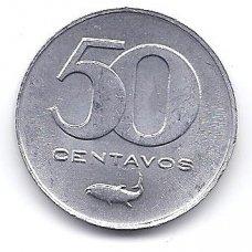 ŽALIOJO KYŠULIO SALOS 50 CENTAVOS 1977 KM # 16 AU