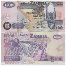 ZAMBIJA 100 KWACHA 2009 P # 38h UNC